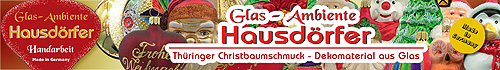 Glas Ambiente Hausdoerfer - Wholesale for Europe