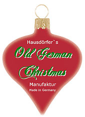 Old german Christmas Label
